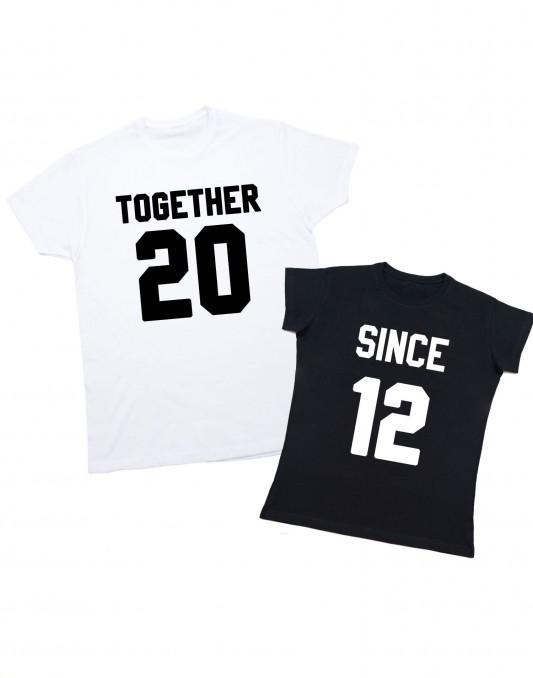 Koszulki dla par KING/QUEEN