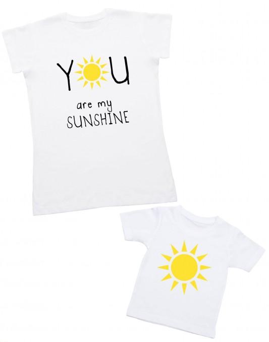 Zestaw dla mamy i dziecka YOU ARE MY SUNSHINE