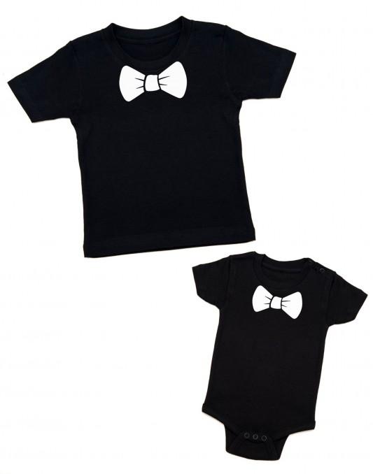 Koszulki dla rodzeństwa MUSZKI